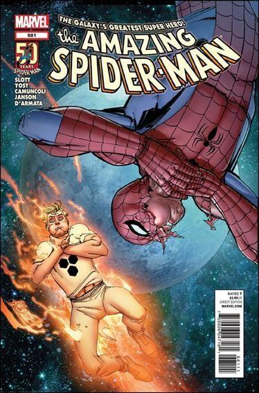 Couverture de Amazing Spider-Man (The) Vol.2 (Marvel comics - 1999) -681- Untitled