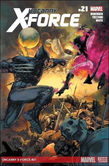 Couverture de Uncanny X-Force (2010) -21- Otherworld part 2