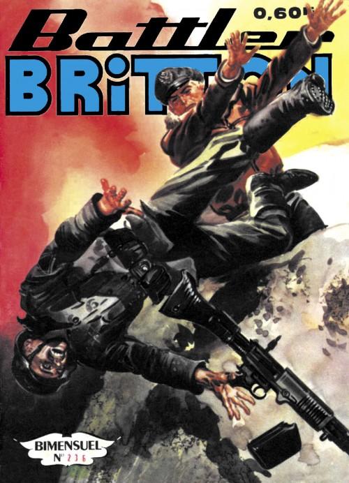 Couverture de Battler Britton -236- Un jour dangereux