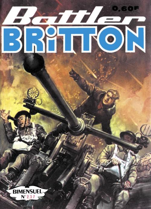 Couverture de Battler Britton -237- Fausse gloire