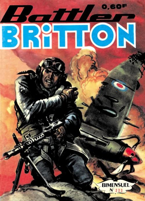 Couverture de Battler Britton -223- Aide-toi, la chance t'aidera