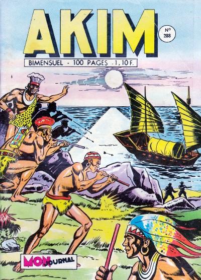 Couverture de Akim (1re série) -288- Le cargo de la mort