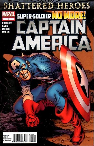 Couverture de Captain America (2011) -8- Powerless part 3