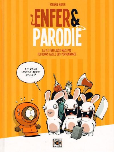 Couverture de Enfer & Parodie -1- La vie fabuleuse mais pas toujours facile des personnages