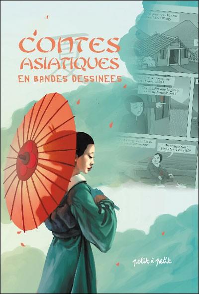 Couverture de Contes du monde en bandes dessinées - Contes asiatiques en bandes dessinées