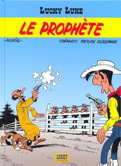 Couverture de Lucky Luke -70- Le prophète