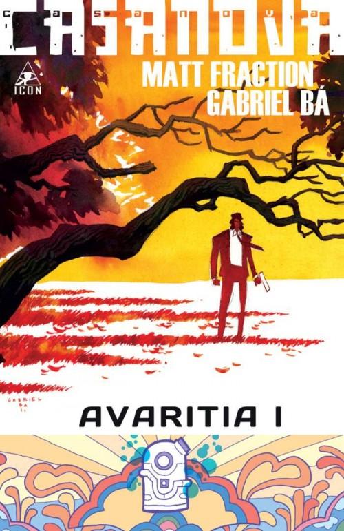 Couverture de Casanova: Avaritia (2011) -1- W.A.S.T.E. - Free Wilderness