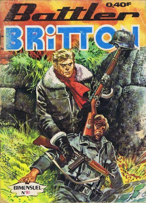 Couverture de Battler Britton -161- La