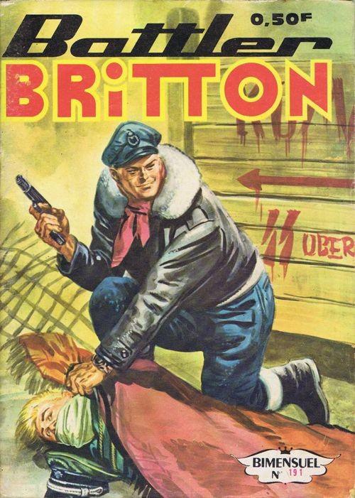 Couverture de Battler Britton -191- Les Défiants