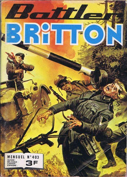 Couverture de Battler Britton (Imperia) -403- Qui est le traître ?
