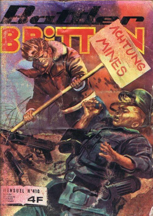 Couverture de Battler Britton -410- Les grognards du grand
