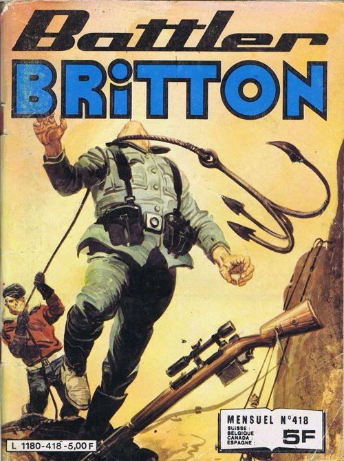 Couverture de Battler Britton -418- Le souper du Maréchal