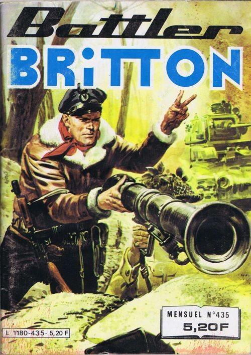 Couverture de Battler Britton -435- Commando catapulté