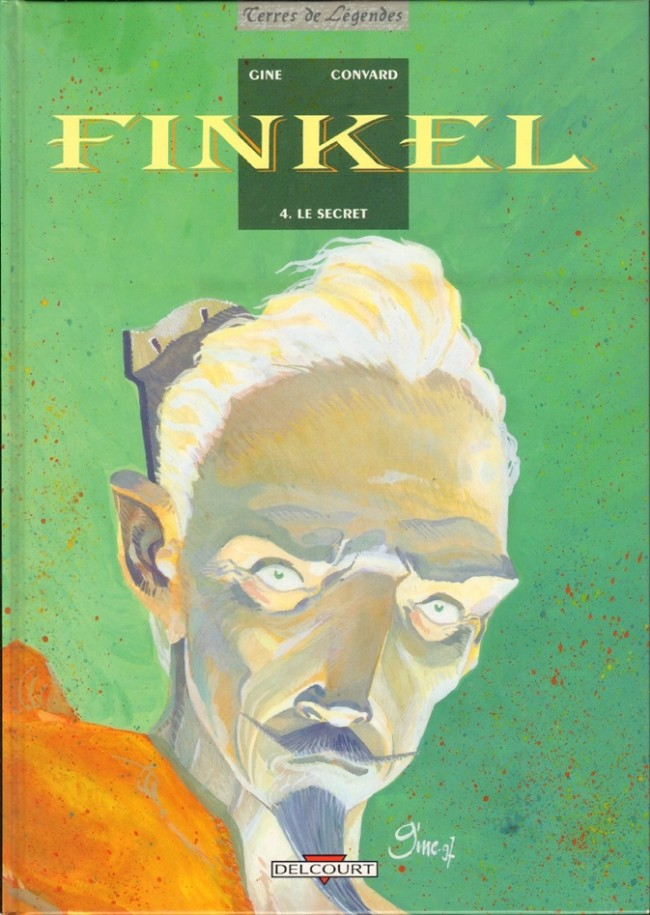 Couverture de Finkel -4- Le secret