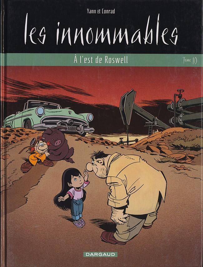 Couverture de Les innommables (Série actuelle) -10- À l'est de Roswell