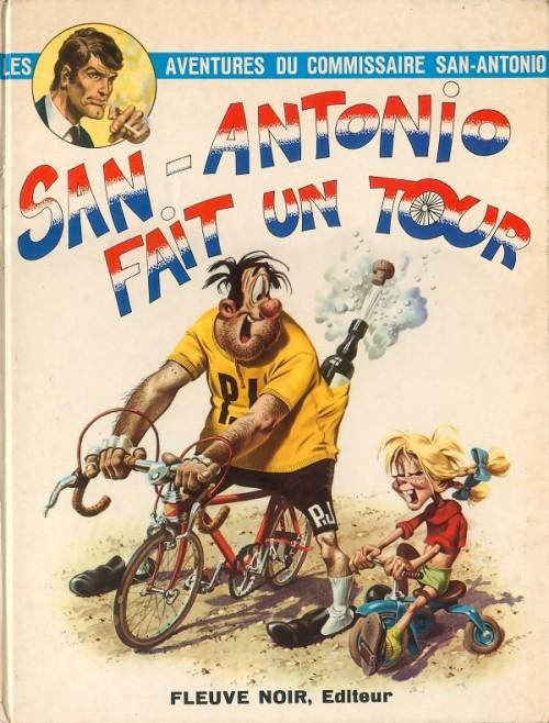 Couverture de San-Antonio (Les Aventures du Commissaire) -3- San-Antonio fait un tour