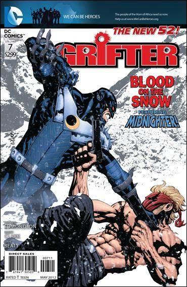 Couverture de Grifter (2011) -7- Frostbite