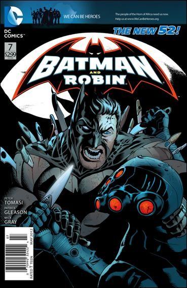 Couverture de Batman and Robin (2011) -7- Driven