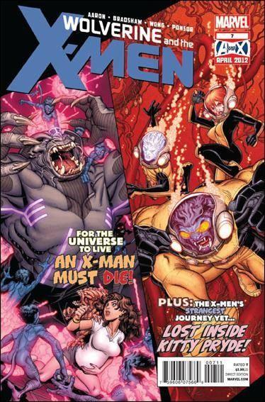 Couverture de Wolverine and the X-Men Vol.1 (Marvel comics - 2011) -7- Mutatis mutandis part 3 : it ain't easy bein' brood