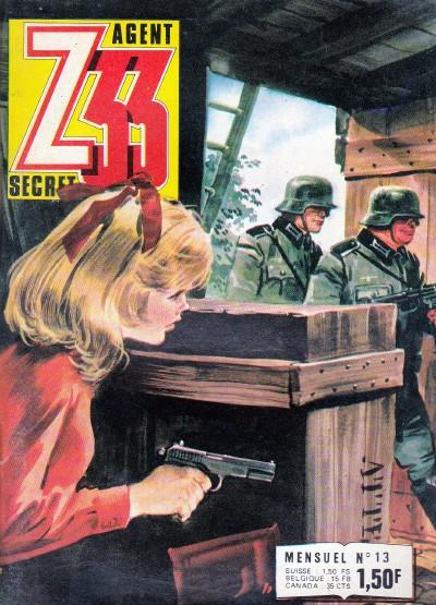 Couverture de Z33 agent secret -13- Tulipes sanglantes