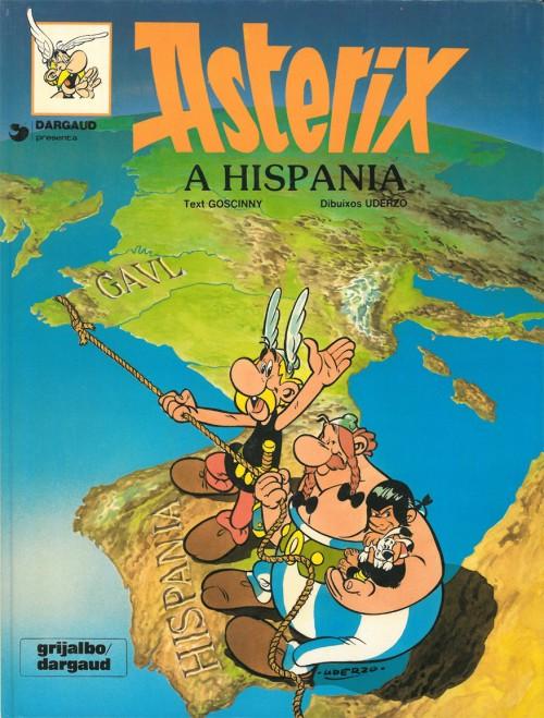 Couverture de Astérix (en langues étrangères) -14Cat- Astèrix a Hispània