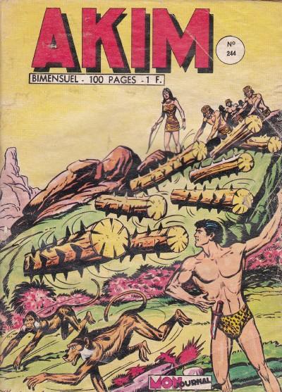Couverture de Akim (1re série) -244- La flèche diabolique