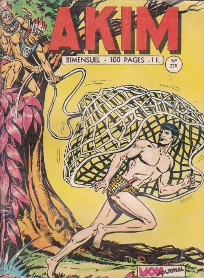 Couverture de Akim (1re série) -270- Les chauves-souris noires
