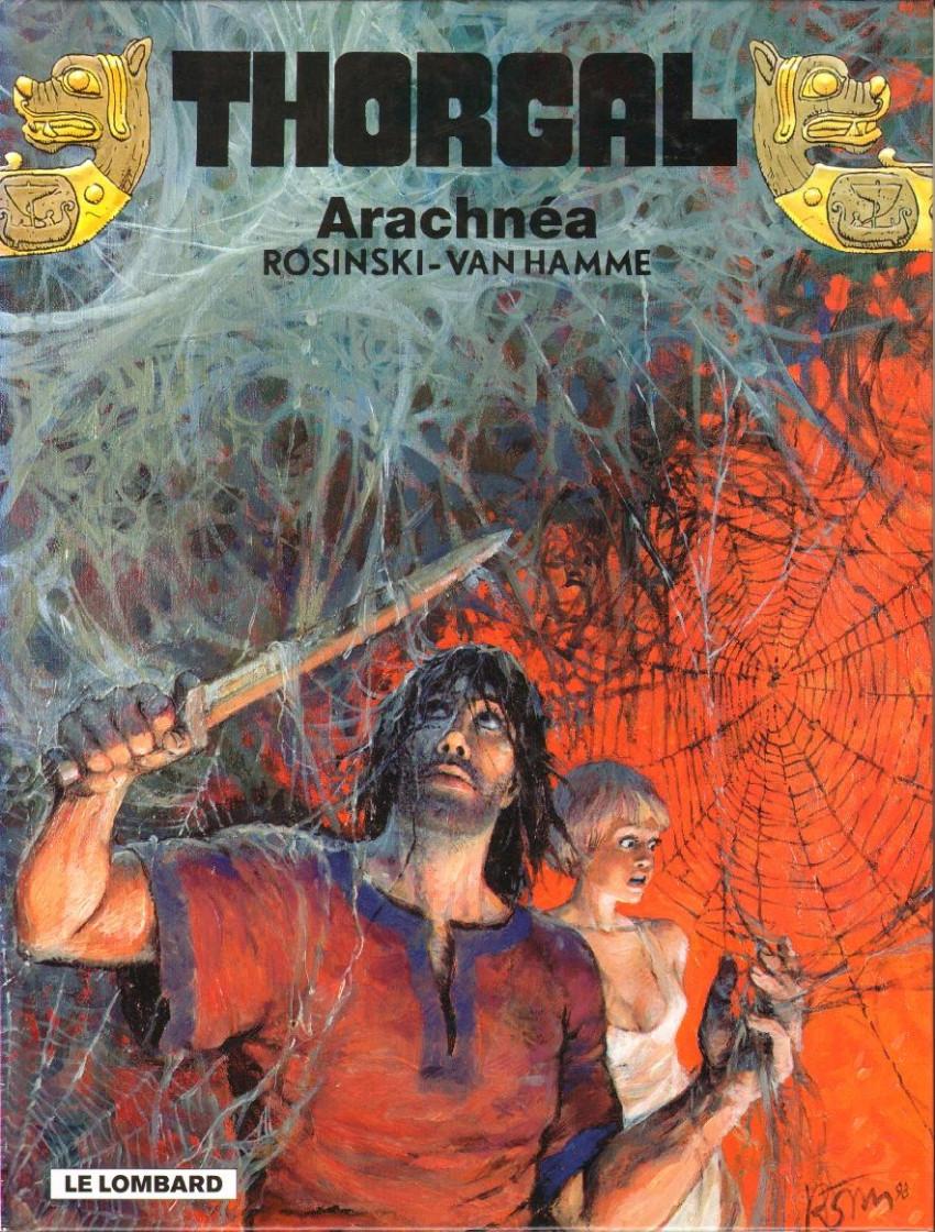 Couverture de Thorgal -24- Arachnéa