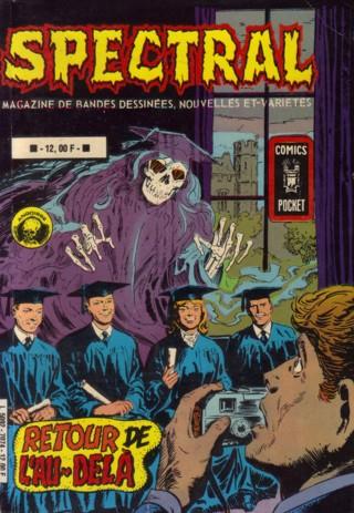 Couverture de Spectral (2e série) -Rec09- Retour de l'au-delà / Macabre apparition
