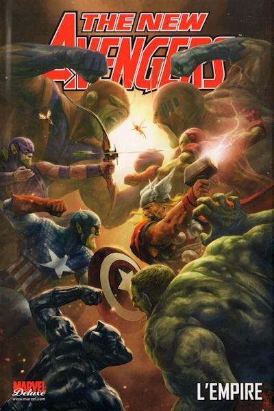 Couverture de New Avengers (The) (Marvel Deluxe - 2007) -5- L'Empire