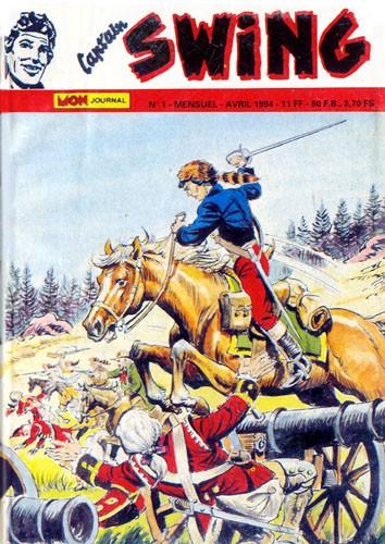 Couverture de Capt'ain Swing! (2e série - Mon Journal) -1- Les Loups de l'Ontario