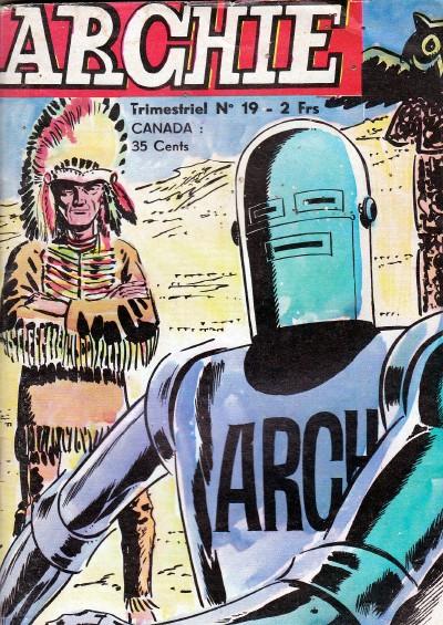 Couverture de Archie (Jeunesse et Vacances) -19- Le mangeur d'hommes