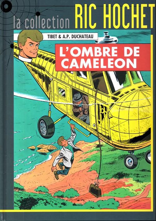 Couverture de Ric Hochet - La collection (Hachette) -4- L'ombre de caméléon