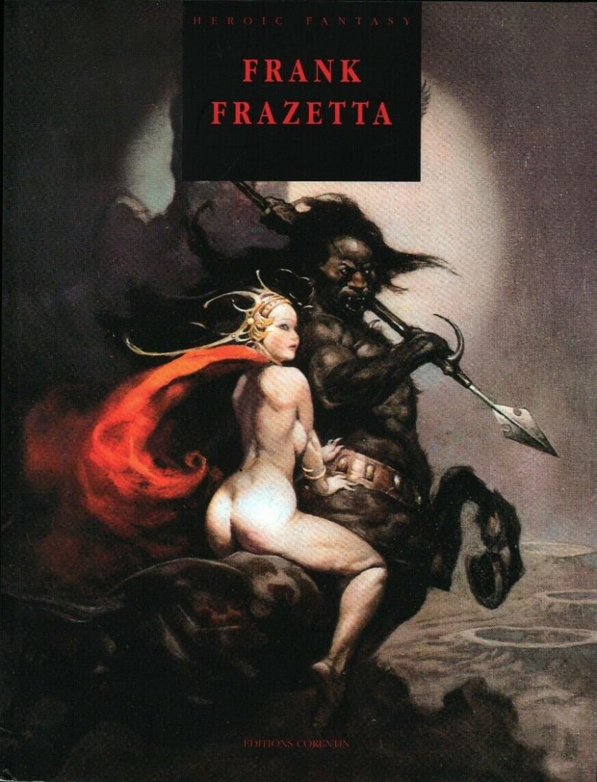 Couverture de (AUT) Frazetta - Frank Frazetta : Heroic fantasy