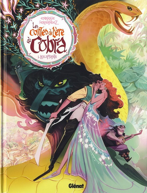 Couverture de Les contes de l'ère du Cobra -1- Les amants