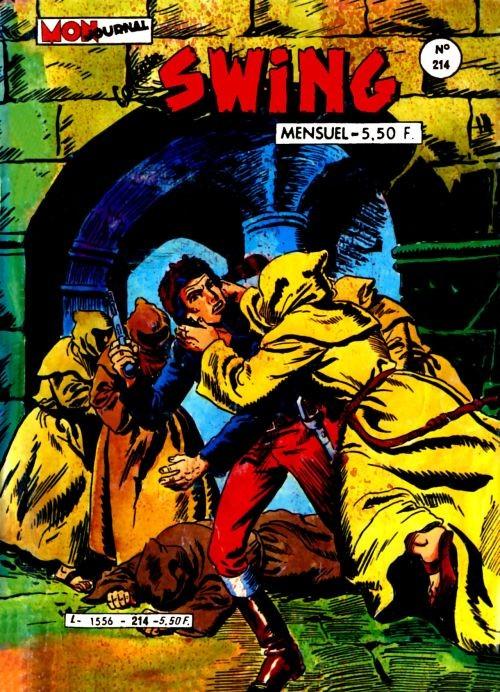Couverture de Capt'ain Swing! (1re série) -214- La femme au pistolet
