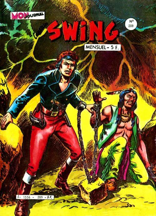 Couverture de Capt'ain Swing! (1re série) -209- Le secret de la montagne