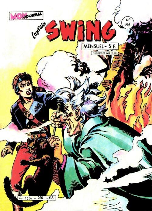 Couverture de Capt'ain Swing! (1re série) -206- La malédiction du corbeau manchot