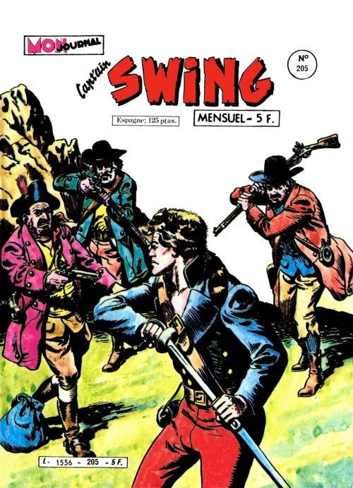 Couverture de Capt'ain Swing! (1re série) -205- La ronde des pillards