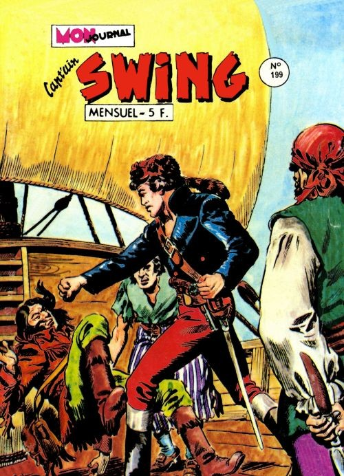 Couverture de Capt'ain Swing! (1re série) -199- Le traquenard