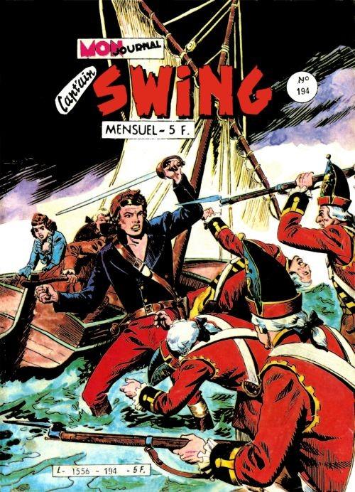 Couverture de Capt'ain Swing! (1re série) -194- La cabane assiégée