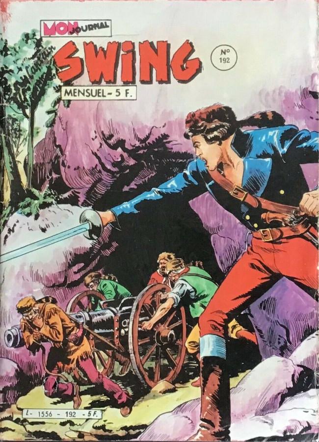 Couverture de Capt'ain Swing! (1re série) -192- Les canons de Nez Tailladé