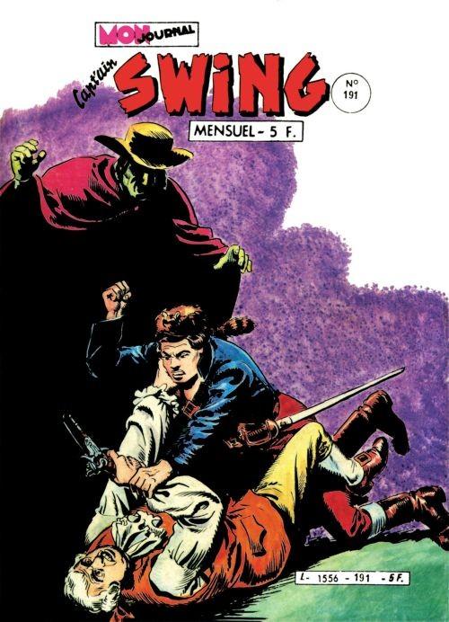 Couverture de Capt'ain Swing! (1re série) -191- Le bal des pendus