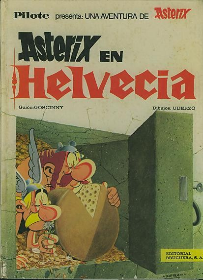 Couverture de Astérix (en espagnol) -16- Astérix en Helvecia