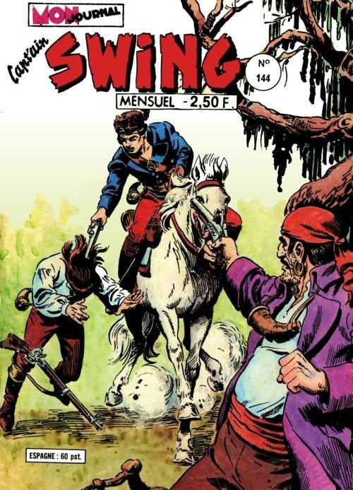 Couverture de Capt'ain Swing! (1re série) -144- Le fantôme du Cap'tain