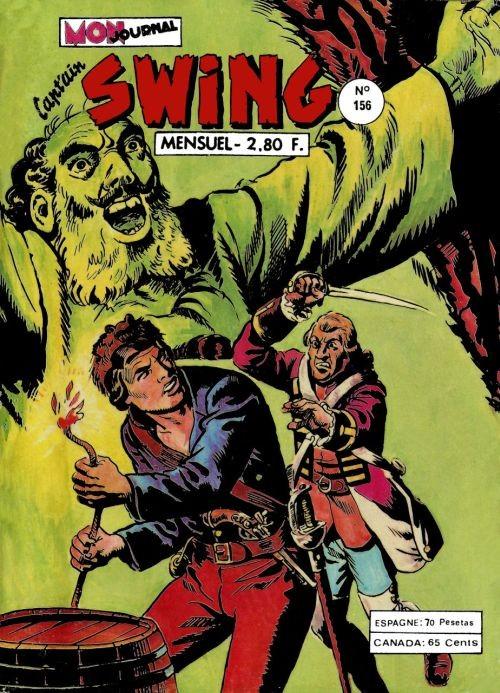 Couverture de Capt'ain Swing! (1re série) -156- Les trois prêcheurs