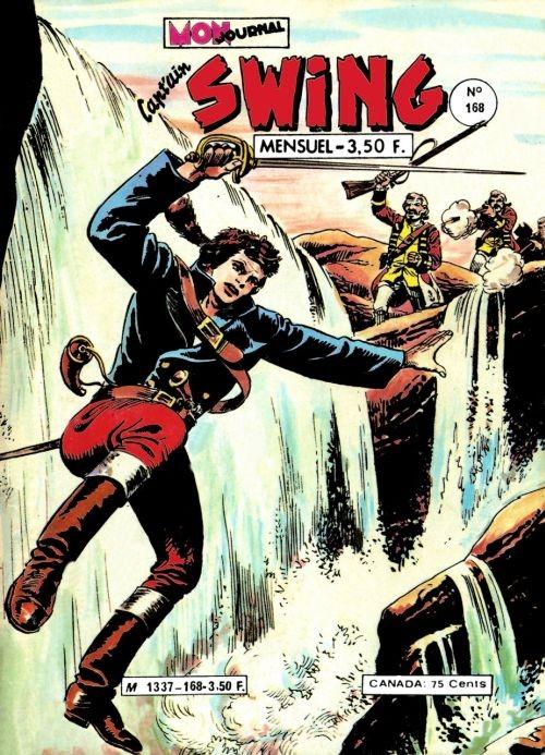 Couverture de Capt'ain Swing! (1re série) -168- Les démons rouge de Peacecliff
