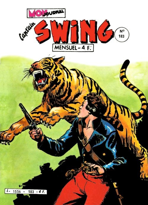 Couverture de Capt'ain Swing! (1re série) -183- Un complot presque parfait !