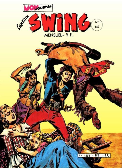 Couverture de Capt'ain Swing! (1re série) -187- La tombe du captain Simmons