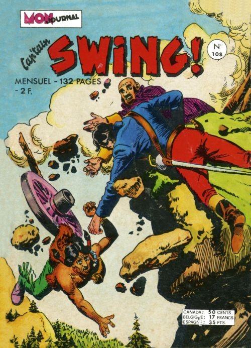 Couverture de Capt'ain Swing! (1re série) -108- Le secret de Hibou Lugubre